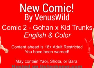 New comic - Venus Wild comic 2 english