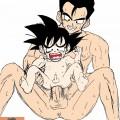 Gohan and Son Goten